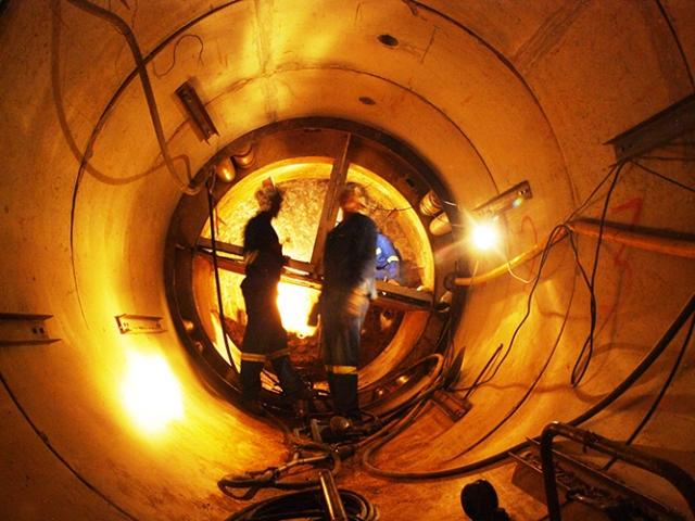 Large diameter concrete pipe
